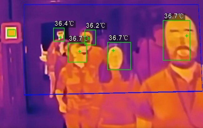 temperature checker schools